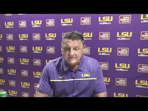 WATCH: LSU Ed Orgeron after BRUTAL loss to Missouri, post-game presser