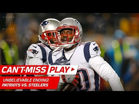 UNBELIEVABLE ENDING to Patriots vs. Steelers Game!   Can't-Miss Play   NFL Wk 15 Highlights
