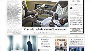 Rassegna stampa, i giornali del 7 ottobre