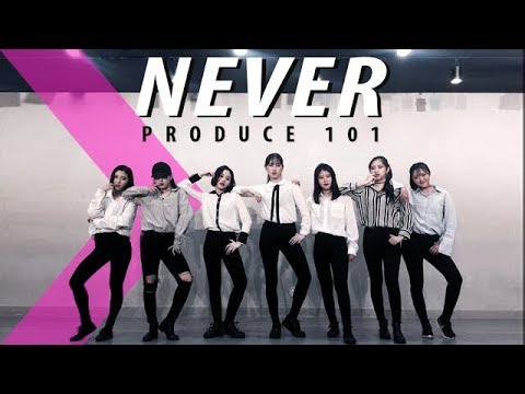 [Mirrored ver.] PRODUCE101(국민의 아들) - NEVER(35 Boys 5 Concepts) / Dance Cover.