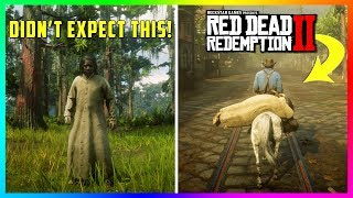 What Happens If You Bring The Night Folk Into Town During The Daylight In Red Dead Redemption 2?