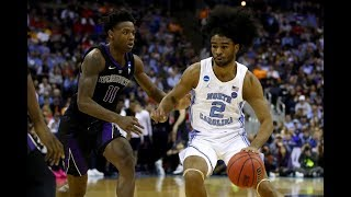 Highlights: Coby White catches fire for 17 points in North Carolina's second round win