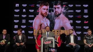 Full Canelo Alvarez vs Rocky Fielding Press Conference