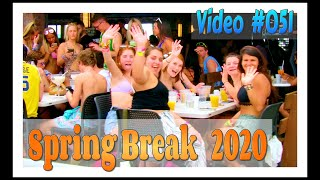 Spring Break 2020 / Fort Lauderdale Beach / Video #051