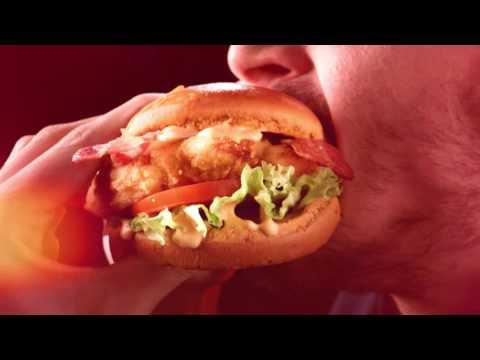 Red Hot Chicken Sandwich - Hardees Arabia