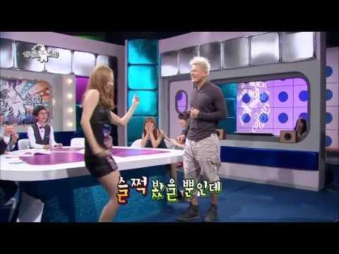 [HOT] 라디오스타 - 구하라-박진영, 놀 줄 아는 사람들의 '클럽 댄스' 20130904
