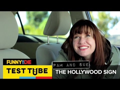 Test Tube: Pam And Sue – The Hollywood Sign