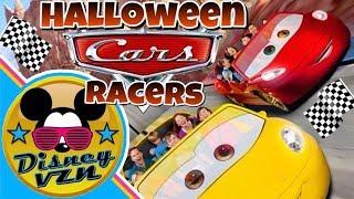 Radiator Springs Racers Halloween Overlay POV | Cars Land, Disney California Adventures