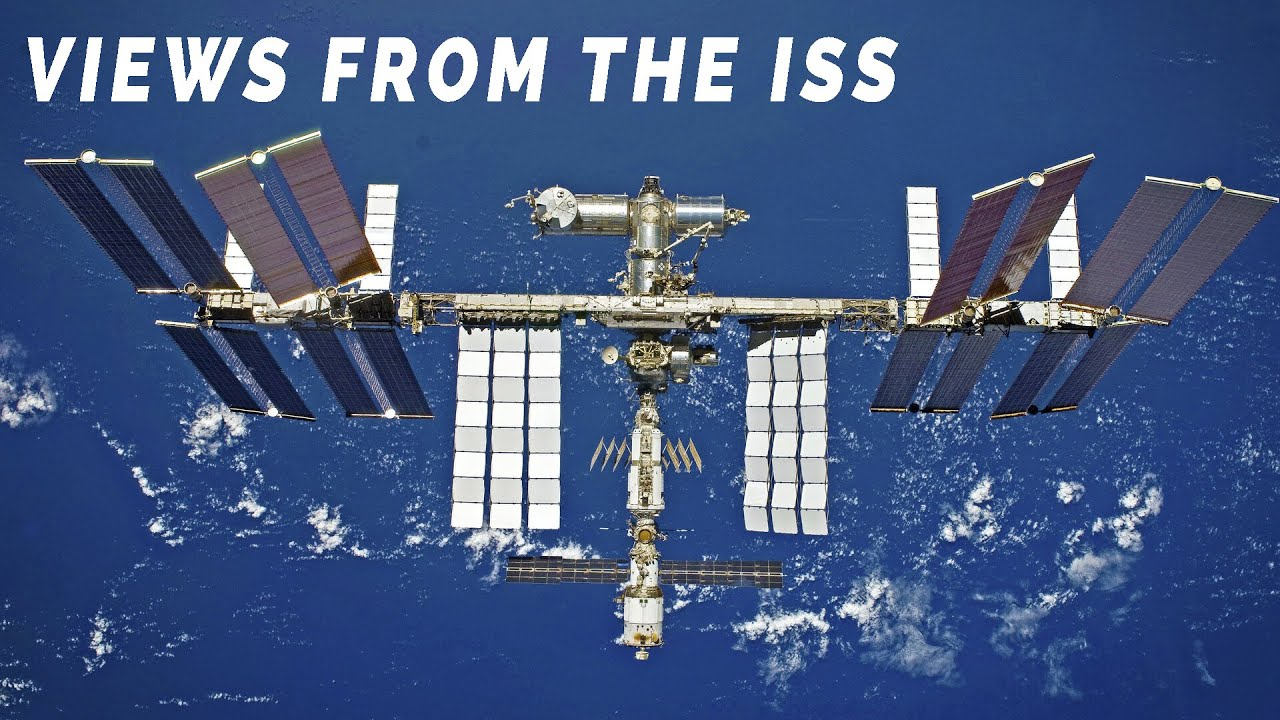 NASA / ISS LIVE Stream 2 - Views & Audio From The International Space Station