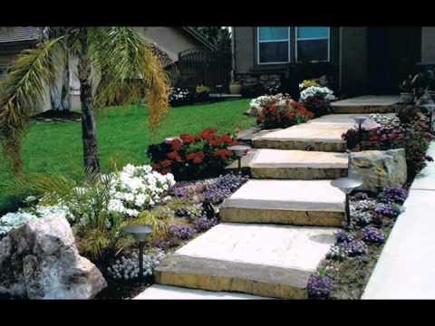 Front Yard Landscaping Ideas - YouTube on Backyard Steps Ideas id=22112