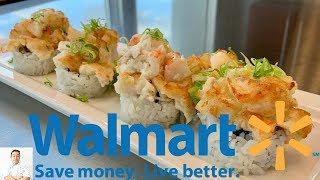 Walmart Sushi Challenge | Making Gourmet Sushi On A Budget