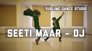 Seetimaar Dance Cover || Allu Arjun II DJ II Sublime Dance Studio