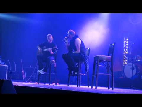 Poets of the Fall - Can You Hear Me (acoustic) (live in Moscow)