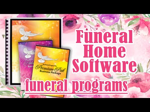 Funeral Home Software for Businesses, Funeral Homes, Printers, Churches