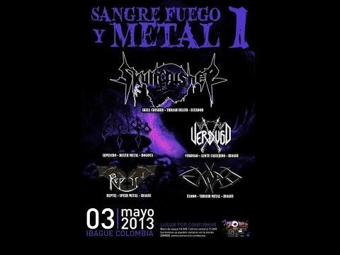 VERDUGO - 2/AZRAEL // 3/FALSO PROFETA - (EN VIVO - SANGRE, FUEGO Y METAL - 2013)