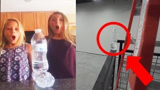 Top 15 LUCKIEST Water Bottle Flips!