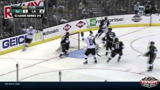 Los Angeles Kings @ San Jose Sharks Game #4 WCR1 StanleyCup Playoffs 2014
