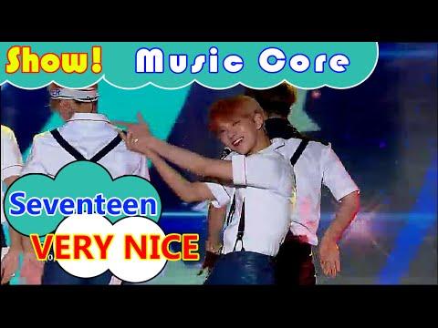 [HOT] Seventeen - VERY NICE, 세븐틴 - 아주 NICE Show Music core 20160730