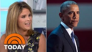 Jenna Bush Hager Reflects On President Obama Daughters' Love For Their Dad   TODAY