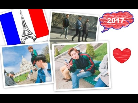 Chanyeol (Exo) , Kasper & Mihawk in Paris