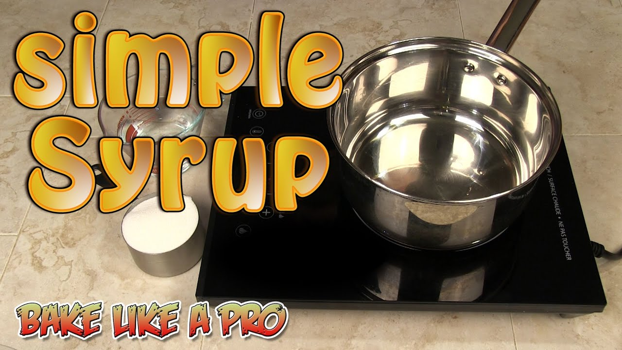 Rum Simple Syrup Recipe For Cakes
