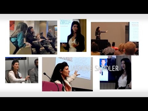 Social Media Keynote Speaker & Corporate Trainer - Speaker Reel of Jasmine Sandler