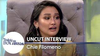 TWBA Uncut Interview: Chie Filomeno
