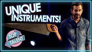 MOST UNIQUE INSTRUMENT AUDITIONS On Got Talent! | Top Talent