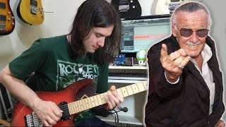 RIP Stan Lee - Avengers: Infinity War Theme (Guitar)
