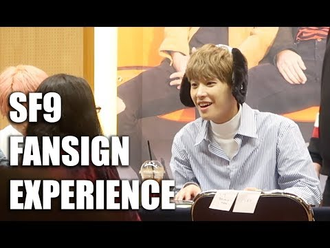 SF9 FANSIGN EXPERIENCE