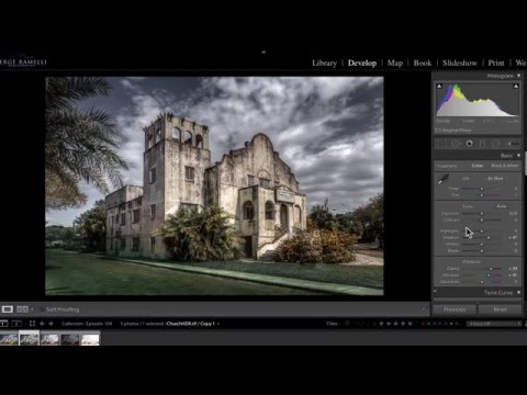 Creating Dramatic HDR Without A Tripod - PLP #104 By Serge Ramelli - Smashpipe Education