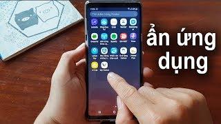 Cách ẩn ứng dụng trên điện thoại Samsung không cần phần mềm