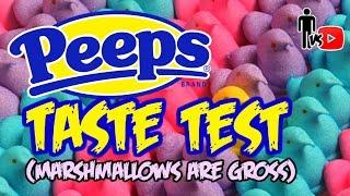 Peeps Taste Test - Marshmallows are gross - Man Vs Youtube