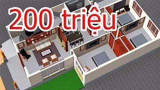 Nhà Cấp 4 Đẹp Đơn Giản Giá Rẻ  Nhà Cấp 4  Mái Thái mới