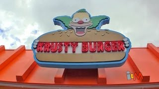 Simpsons Fast Food Boulevard opens at Universal Orlando, Springfield expansion