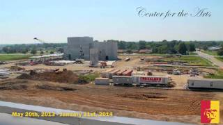'Center for the Arts (progress time-lapse) - Pittsburg State University