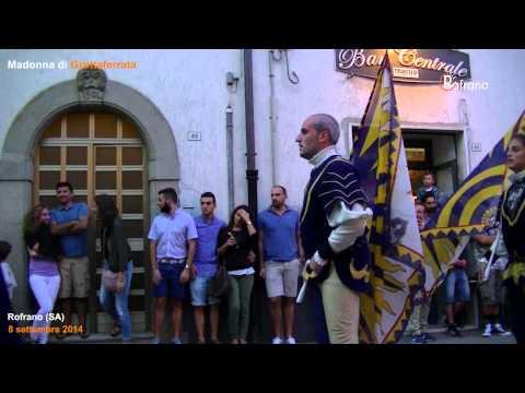 Sbandieratori in Piazza Madonna di Grottaferrata 2014