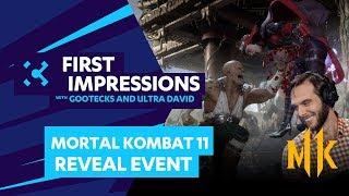 Mortal Kombat 11 Reveal Event - first impressions with UltraDavid (@UltraDavid) and gootecks