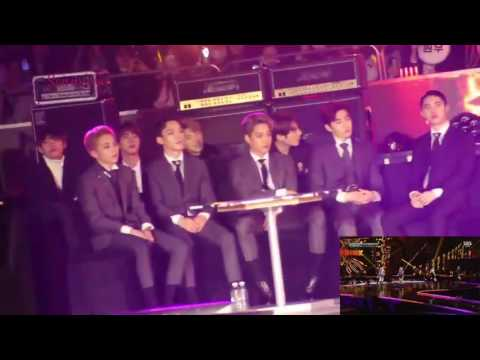 BTS, EXO, Cnblue reaction to Blackpink [SBS gayo] 2016 fancams