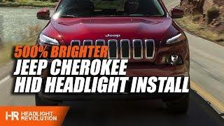 Jeep Cherokee 2014-2017 HID Install