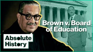 How This Court Case Won Equal Education For Black Students   Thurgood Marshall   Absolute History