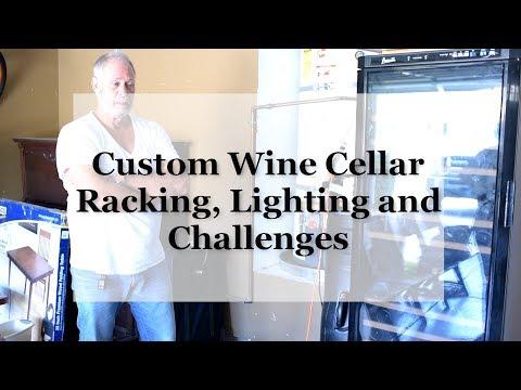 PH 0:00 / 2:07 Custom Wine Cellars in Orange County: Racking, Lighting and Challenges