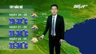 (VTC14)_ Thời tiết 12h ngày 19.05.2017