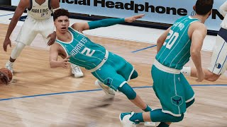 NBA 2K21 My Career PS5 EP 36 - LaMelo Ball Is Leaning!