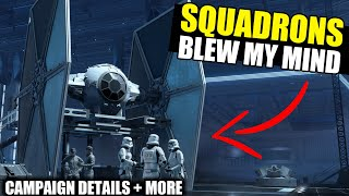 Star Wars Squadron's Campaign BLEW MY MIND! (Prologue Details + More!)