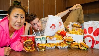 EATING THE WORST RATED FAST FOOD
