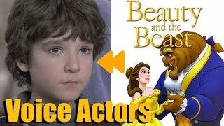 """Beauty and the Beast"" (1991) Voice Actors and Characters"