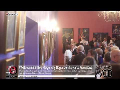 Wystawa malarstwa Małgorzaty Boguckiej i Edwarda Gałustowa
