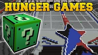Minecraft: WWE STADIUM HUNGER GAMES - Lucky Block Mod - Modded Mini-Game