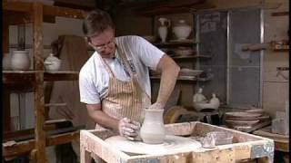 David L Bradley Pottery Rib Demo